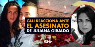 Cali reacciona ante el ASESINATO de Juliana Giraldo