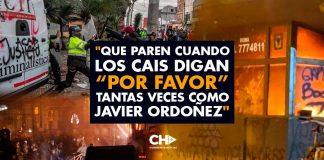 """""""Que paren cuando los CAIs digan """"Por favor"""" tantas veces como Javier Ordoñez"""" Twitt de ITA"""