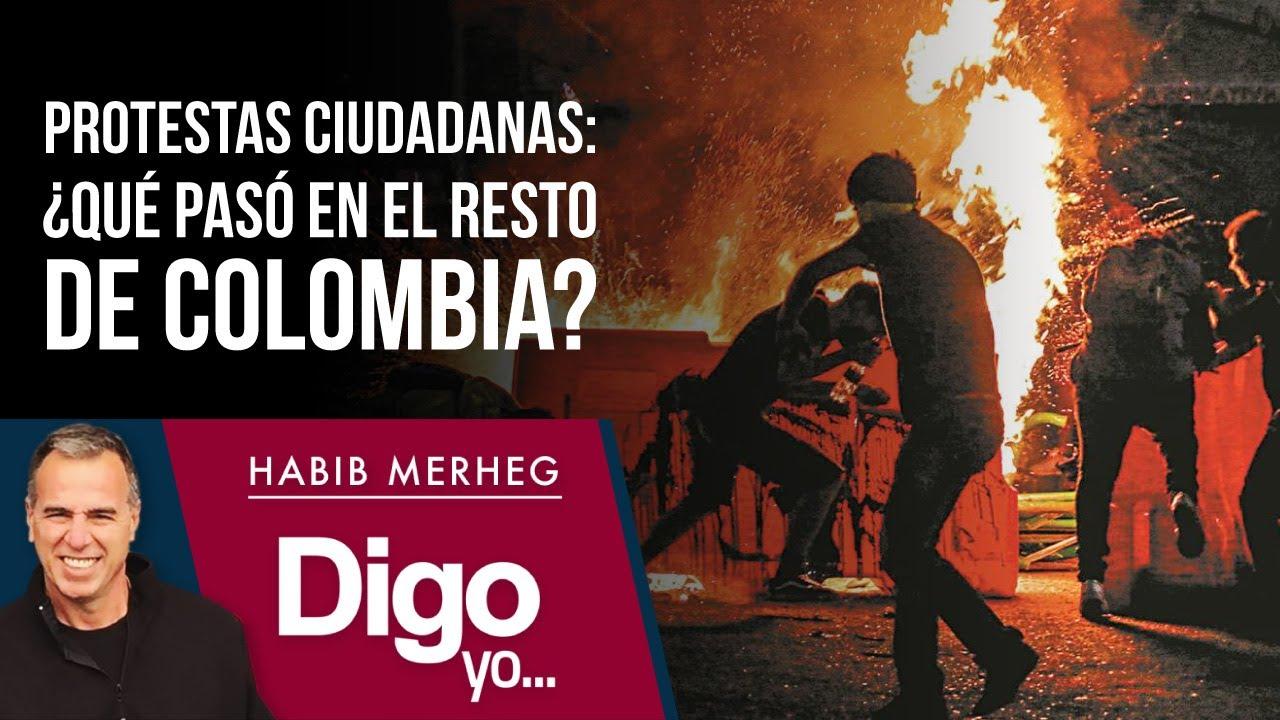Protestas Ciudadanas: ¿Qué pasó en el resto de Colombia?