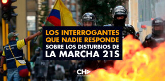 Los interrogantes que NADIE responde sobre los disturbios de la marcha 21S