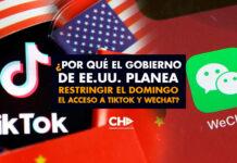 ¿Por qué el Gobierno de EE.UU. planea restringir el domingo el acceso a TikTok y WeChat?