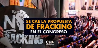 Se cae la propuesta de Fracking en el Congreso