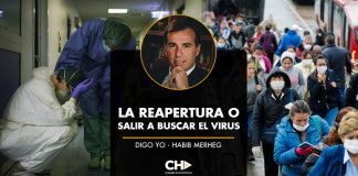 LA REAPERTURA O SALIR A BUSCAR EL VIRUS