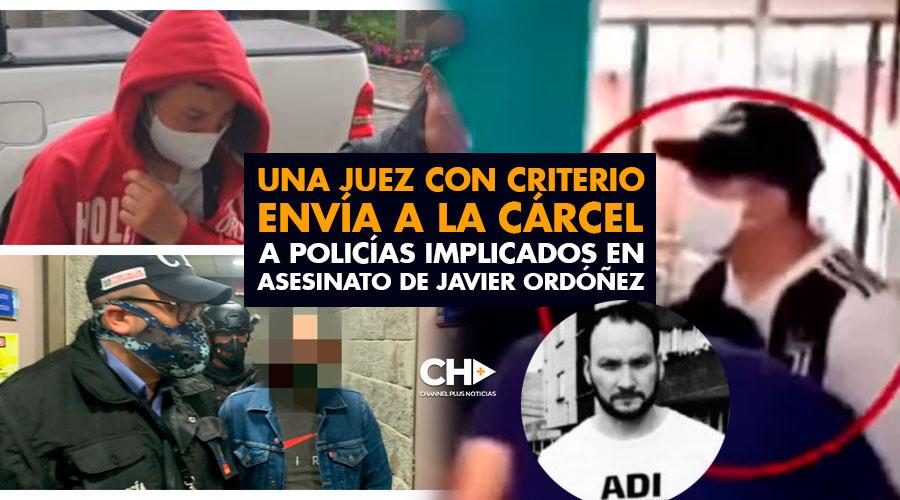 Una JUEZ con criterio envía a la cárcel a policías implicados en ASESINATO de Javier Ordóñez