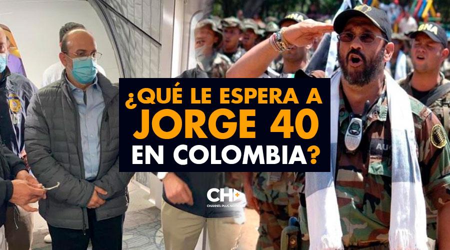 ¿Qué le espera a JORGE 40 en Colombia?
