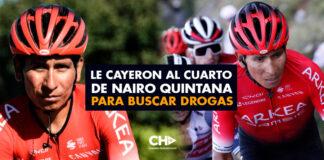 Le cayeron al cuarto de Nairo Quintana para buscar DROGAS