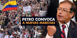 Petro convoca a nuevas marchas