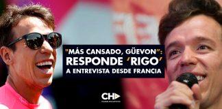 """""""Más cansado, güevon"""": Responde 'Rigo' a entrevista desde Francia"""
