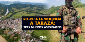 Regresa la VIOLENCIA a Tarazá: Tres nuevos asesinatos