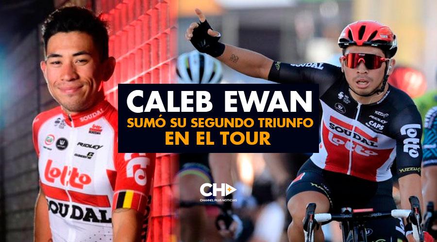 Caleb Ewan sumó su segundo triunfo en el Tour