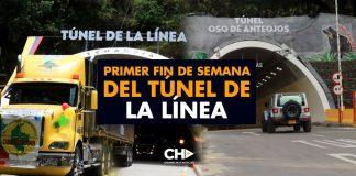 Primer Fin de Semana del Túnel de la Línea