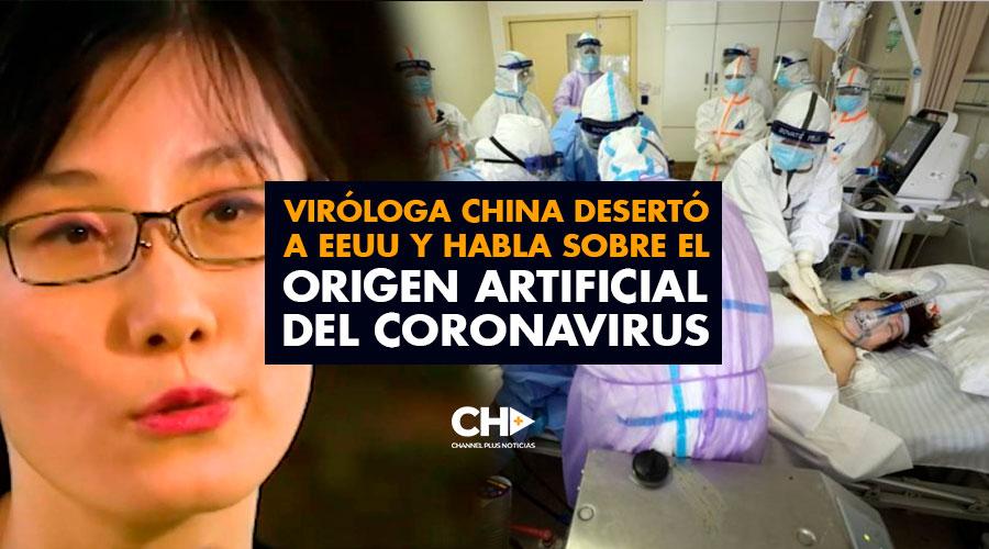 Viróloga China desertó a EEUU y habla sobre el origen artificial del coronavirus