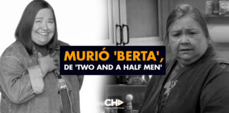 Murió 'Berta', de 'Two And a Half Men'
