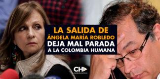 La salida de Ángela María Robledo deja mal parada a la Colombia Humana