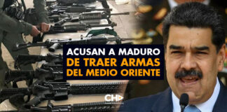 Acusan a Maduro de traer armas del Medio Oriente