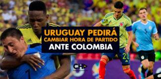 Uruguay pedirá cambiar hora de partido ante Colombia en Barranquilla