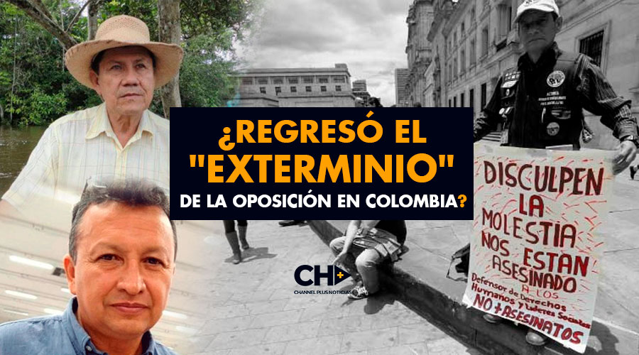 """¿Regresó el """"exterminio"""" de la oposición en Colombia?"""