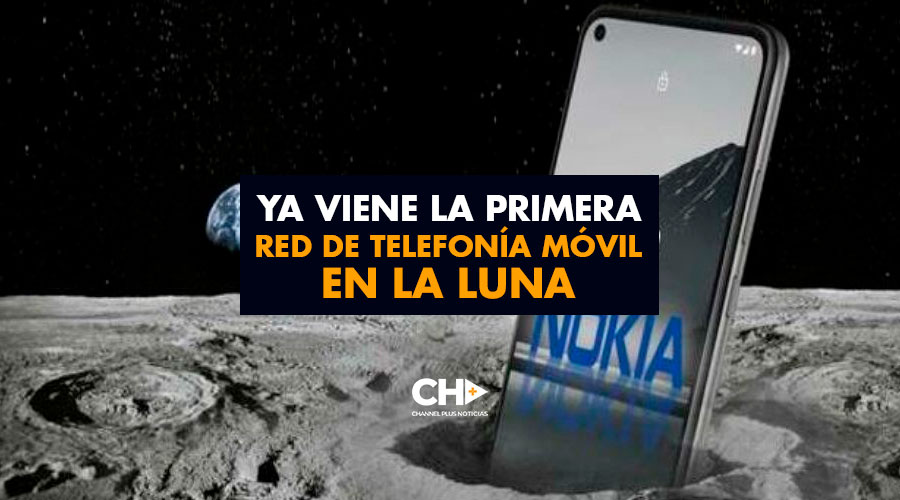 Ya viene la primera red de telefonía móvil en la LUNA