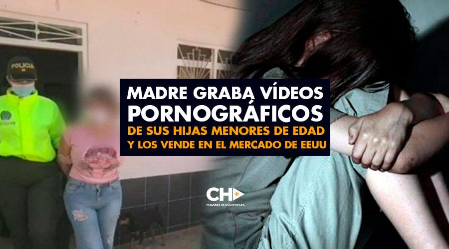 Madre graba vídeos pornográficos de sus hijas menores de edad y los vende en el mercado de EEUU