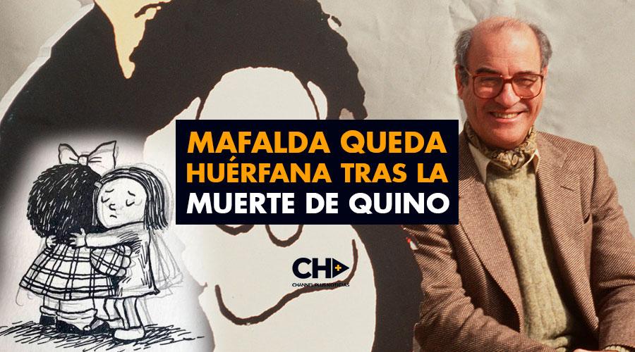 Mafalda queda huérfana tras la muerte de Quino