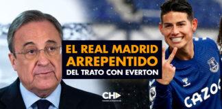 El REAL MADRID arrepentido del trato con EVERTON