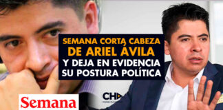 SEMANA corta cabeza de ARIEL ÁVILA y deja en evidencia su postura política