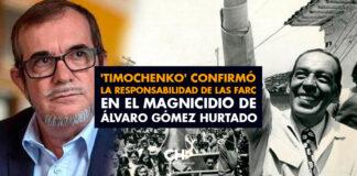 'Timochenko' confirmó la responsabilidad de las FARC en el magnicidio de Álvaro Gómez Hurtado