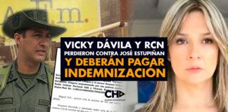 Vicky Dávila y RCN perdieron contra José Estupiñan y deberán pagar indemnización