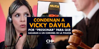 """Condenan a Vicky Dávila por """"presionar"""" para que sacaran a un coronel de la Policía"""