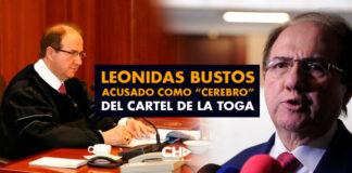 """Leonidas Bustos acusado como """"CEREBRO"""" del cartel de la toga"""