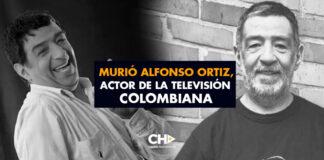 Murió Alfonso Ortiz, actor de la televisión colombiana