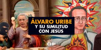 Álvaro Uribe y su similitud con Jesús (¿Nazareno o Santrich?)