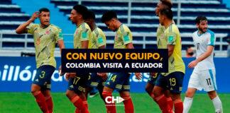 Con nuevo equipo, Colombia visita a Ecuador