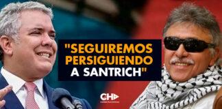 """Duque: """"Seguiremos persiguiendo a Santrich"""""""