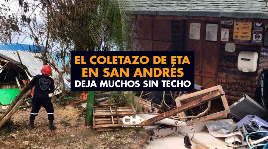 El coletazo de ETA en San Andrés deja muchos sin techo
