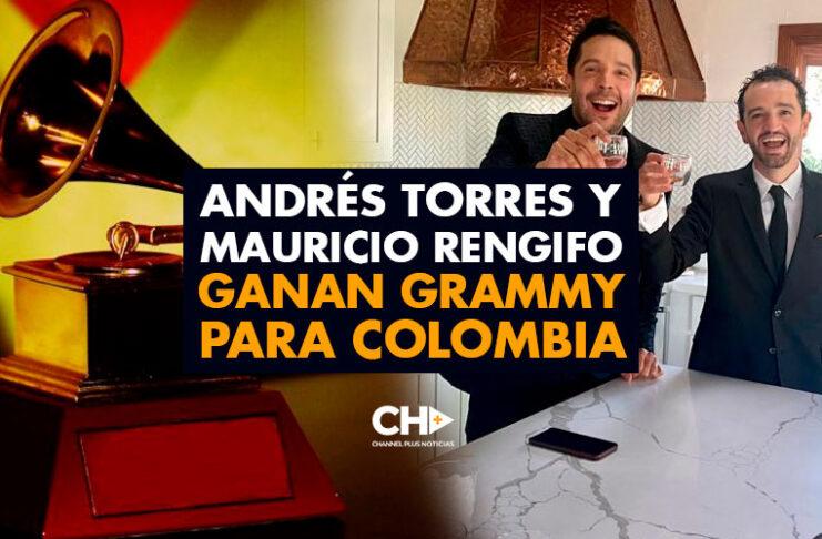 Andrés Torres y Mauricio Rengifo ganan GRAMMY para Colombia