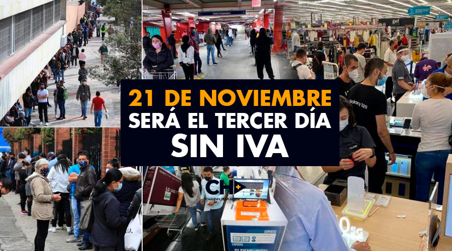 El 21 de noviembre será el tercer día sin IVA