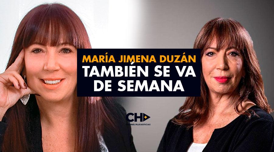 María Jimena Duzán también se va de SEMANA