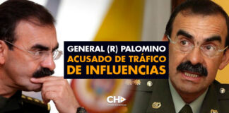 General (r) Palomino acusado de TRÁFICO de INFLUENCIAS