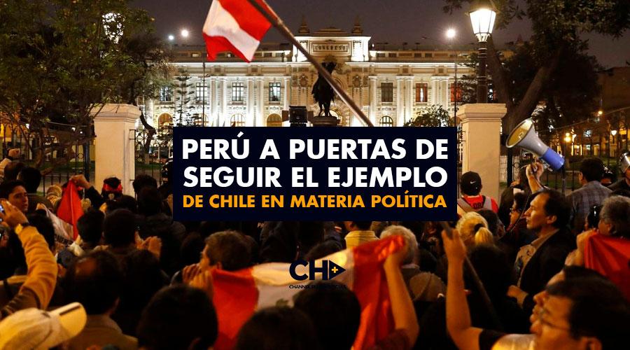 Perú a puertas de seguir el ejemplo de Chile en materia política