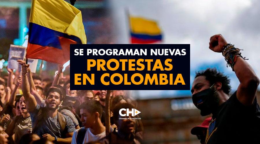 Se programan nuevas PROTESTAS en Colombia