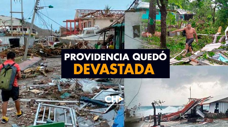 Providencia quedó devastada con Iota