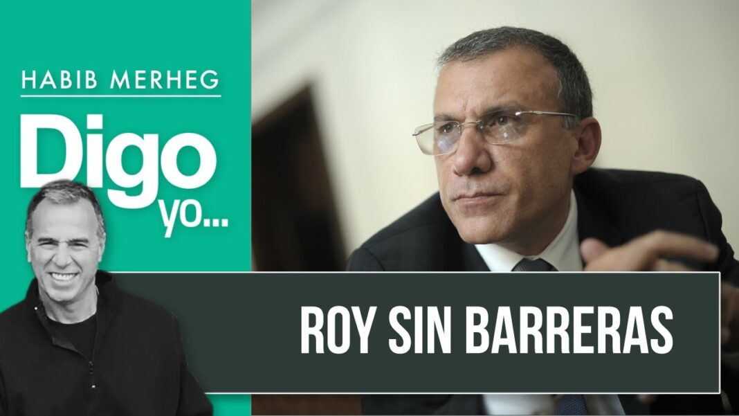 ROY BARRERAS, sin barreras