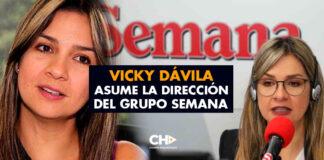 Vicky Dávila asume la dirección del Grupo Semana