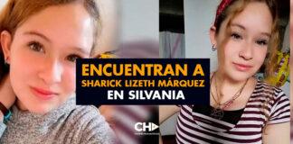 Encuentran a Sharick Lizeth Márquez en Silvania