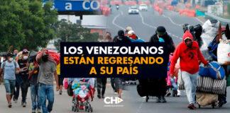 Los venezolanos están regresando a su país