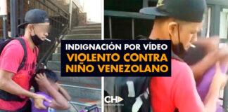 Indignación por vídeo VIOLENTO contra niño Venezolano