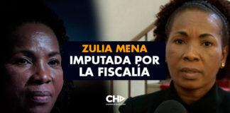Zulia Mena imputada por la Fiscalía