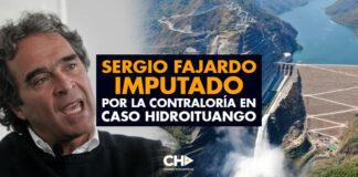 Sergio Fajardo imputado por la Contraloría en caso Hidroituango