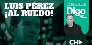 LUIS PÉREZ AL RUEDO!